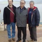 con Eduardo Hess e Joseph Yu