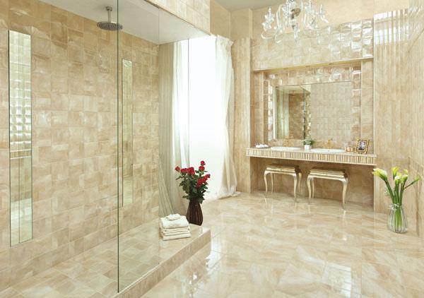 Finest bagno marmo classico bagno marmo piastrelle bagno - Piastrelle per bagno classico ...