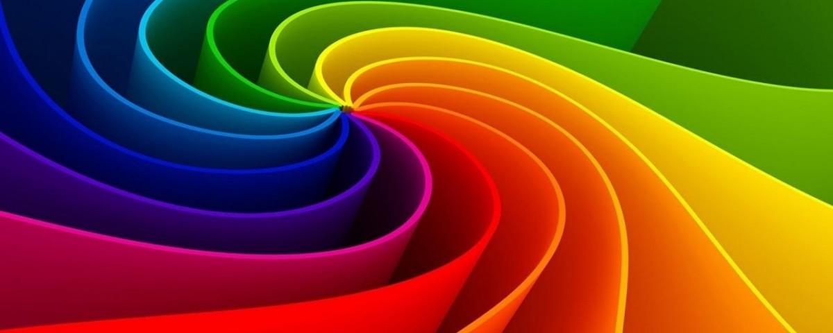 I colori personali ambiente fengshui - Arcobaleno a colori e stampa ...
